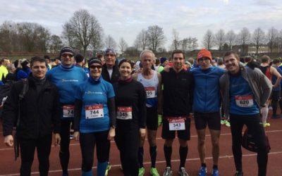 Fit2Run-Läufer bei der Winterlaufserie in Hamm