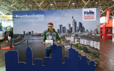 27.10.2019  Jonas Barwinski gibt sein Marathon-Debüt in Frankfurt