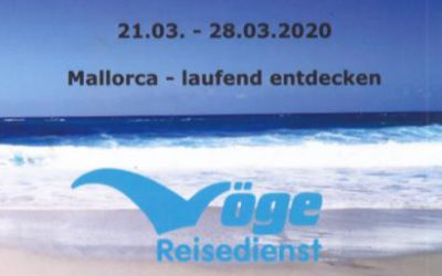 04.09.2019 Laufreise Mallorca März 2020