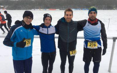 16.12.2018 Fit2Run-Team beim 16km-Weihnachtscrosslauf in Borgholzhausen aktiv